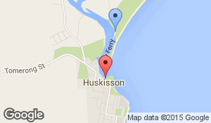 Husky Ferry Location Map